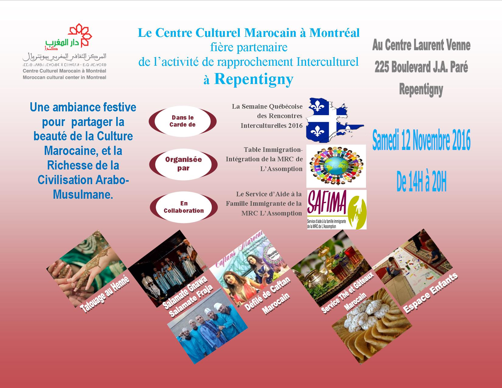 Rencontres interculturelles 2016 fontaine