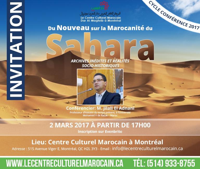 DU NOUVEAU SUR LA MAROCANITÉ DU SAHARA : ARCHIVES INÉDITES ET RÉALITÉS SOCIO-HISTORIQUES»
