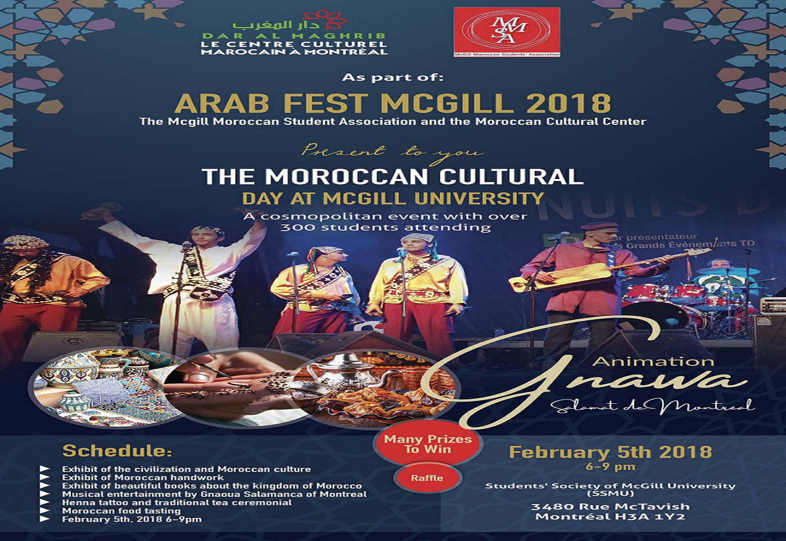 « THE MOROCCAN CULTURAL DAY »