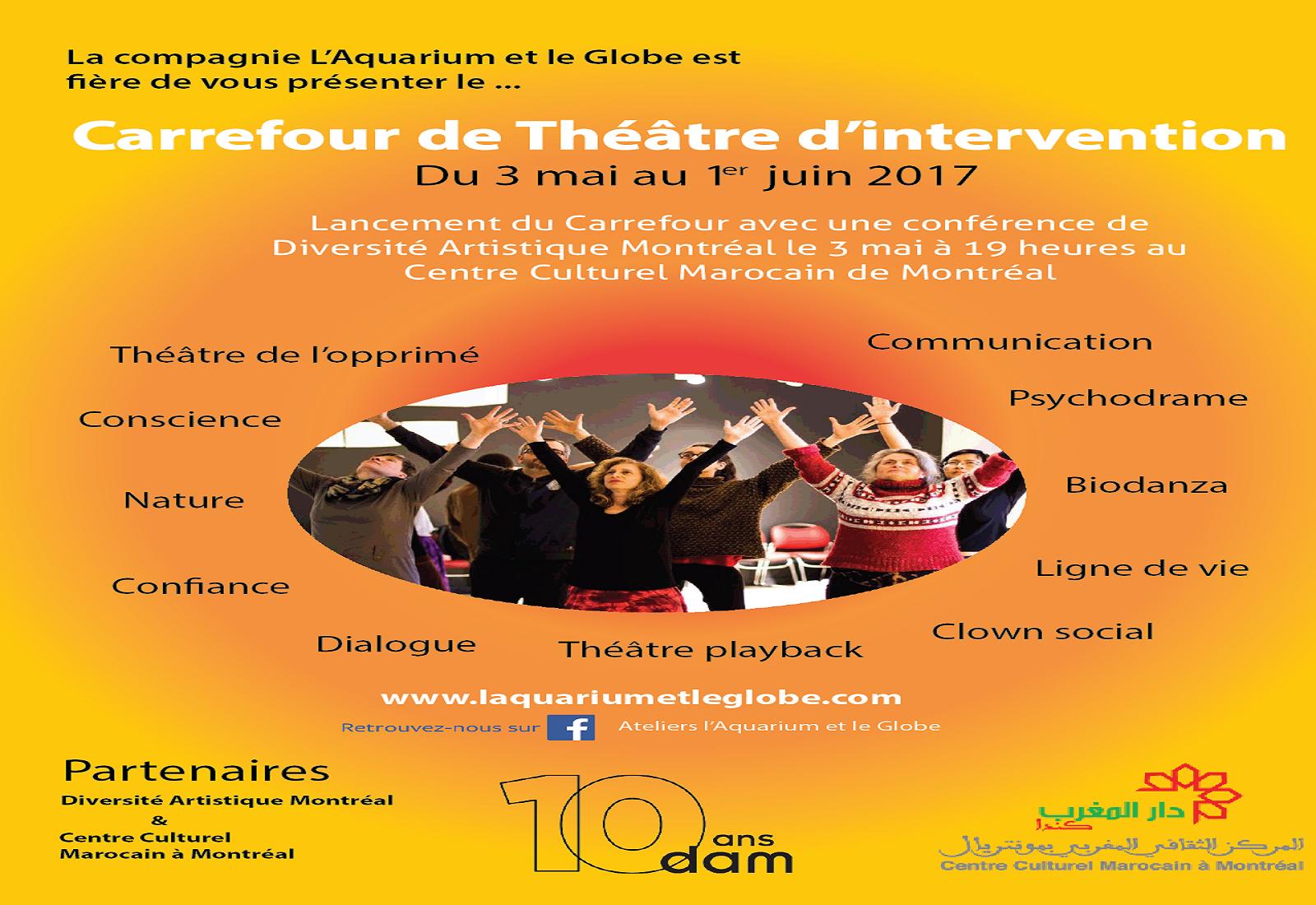 Carrefour du théâtre d'intervention – Mai 2017