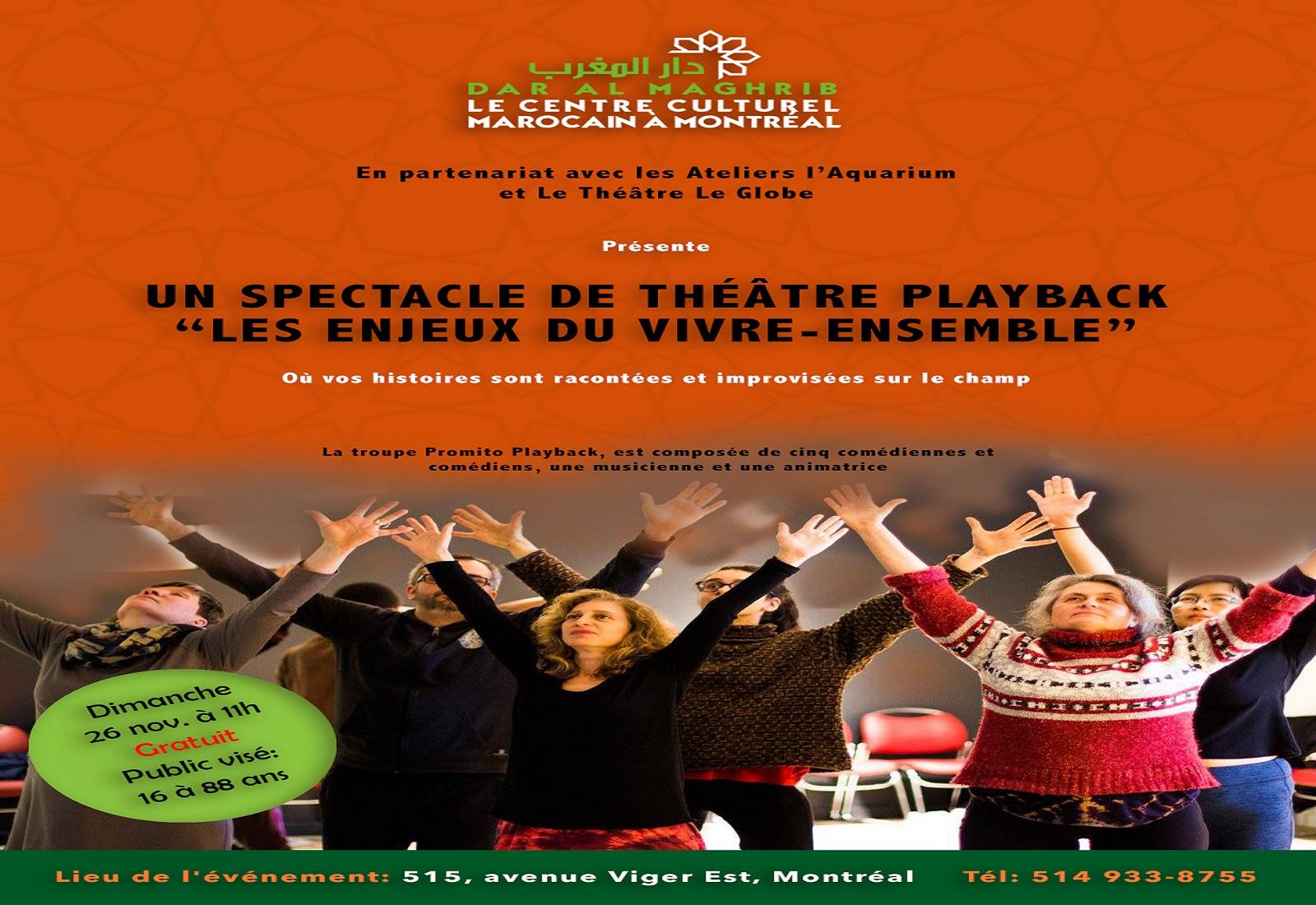 Atelier de Théâtre Playback