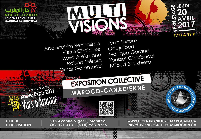 Exposition de peinture et photographie sous le signe Multi – visions