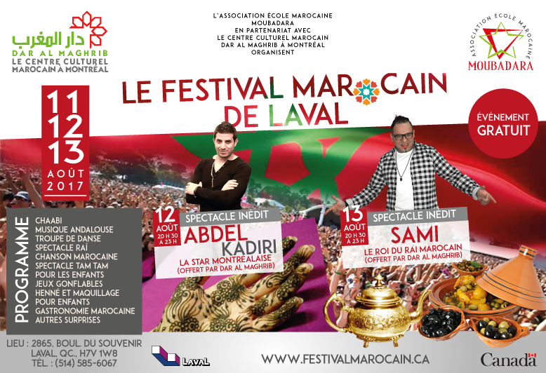 Le Festival Marocain de Laval