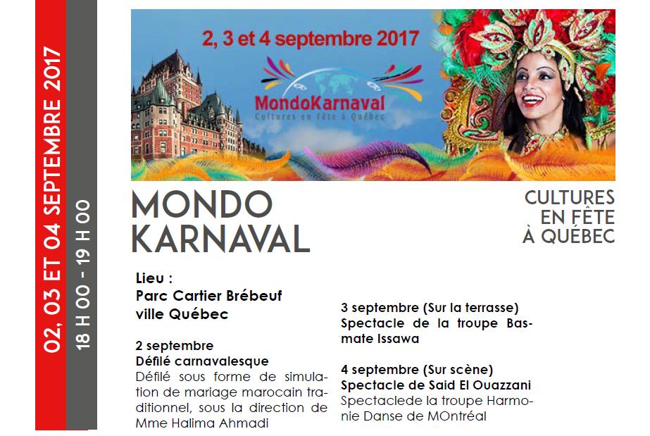 Mondo Karnaval – Ville Québec