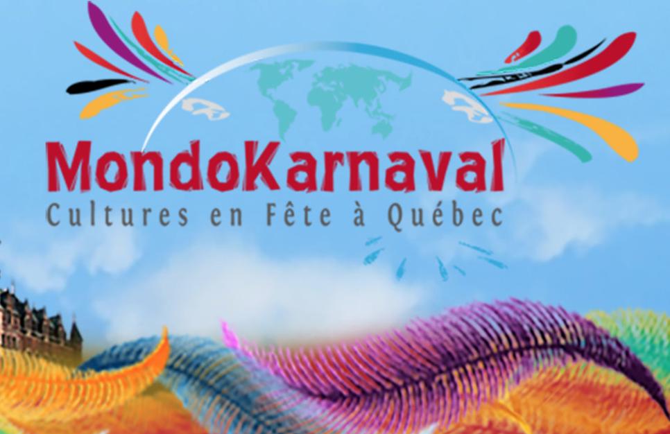 Fête au Mondo Karnaval dans la ville de Québec